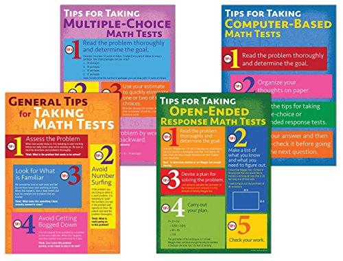 Math Testing Tips Bulletin Board Set (Math Board Bulletin)