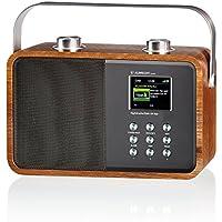 Dab+ Radio de Coffre Albrecht DR 850 AUX, Bluetooth Bois, a