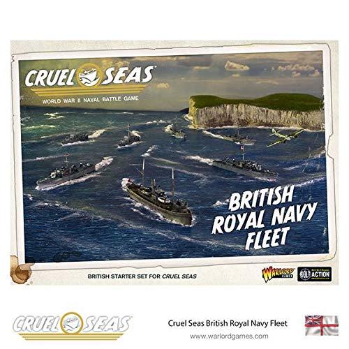 Warlord Games Cruel Seas Miniatures Game Expansion Set British Royal Navy Fleet *English Versi -