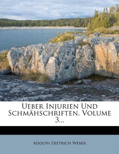 Ueber Injurien und Schmähschriften, Dritte Abtheilung