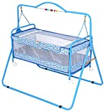 Furncoms 1004 Baby Cradle Bed with Mosqu...