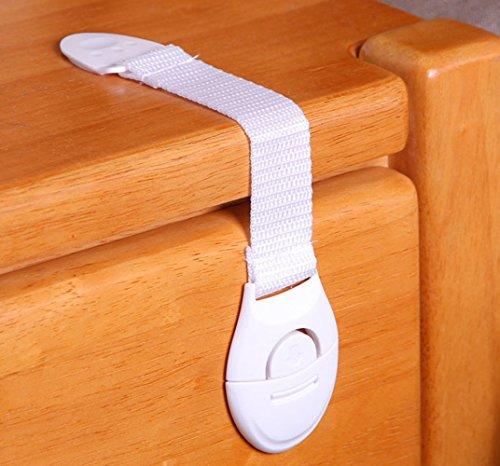 Gs33 system (6pcs)del bambino del bambino di sicurezza dell'animale domestico sicuro chiusura a scatto per frigo igienici governo del cassetto armadio porta