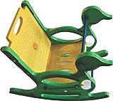 Pihu Enterprises Rocking Chair, Rocker for Kids-Yellow& Green
