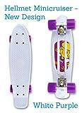 Vinylcruiser Mini Cruiser Skateboard 22