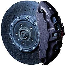 Foliatec - Kit peinture étriers de freins - Noir (carbon metallic), Ref: 2170