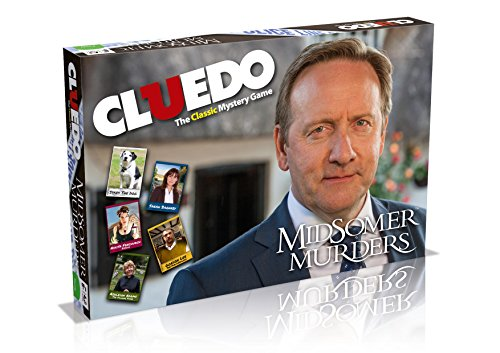 Cluedo Midsomer Murders Edition Board Game