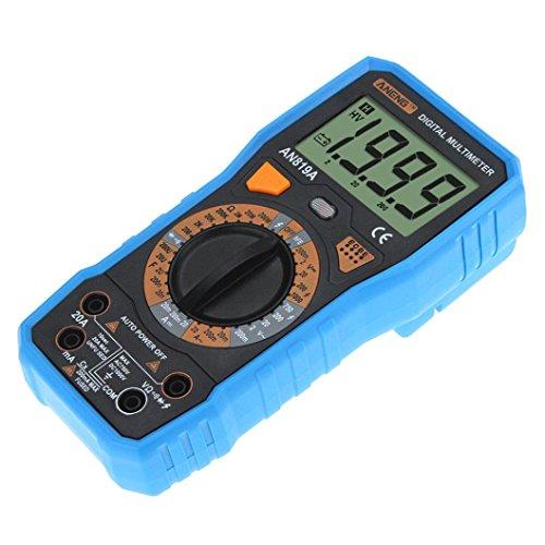 Hunpta@ ANENG Auto Digital Multimeter (Spannungsmesser, Stromprüfer, Widerstand) Strommessgerät (Blau)