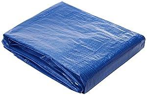 toldos: Toldo reforzado gramaje 90 grs, 3 x 4 m, color azul - Catral 560111