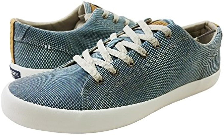 Sperry Top Sider Men's Wahoo LTT Confetti Fashion Sneaker  Blue  7.5 M US