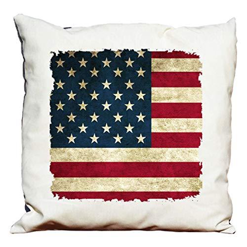 Cuscino decorativo bandiera americana