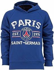 Sweat à capuche PSG - Collection officielle PARIS SAINT GERMAIN - Taille adulte homme