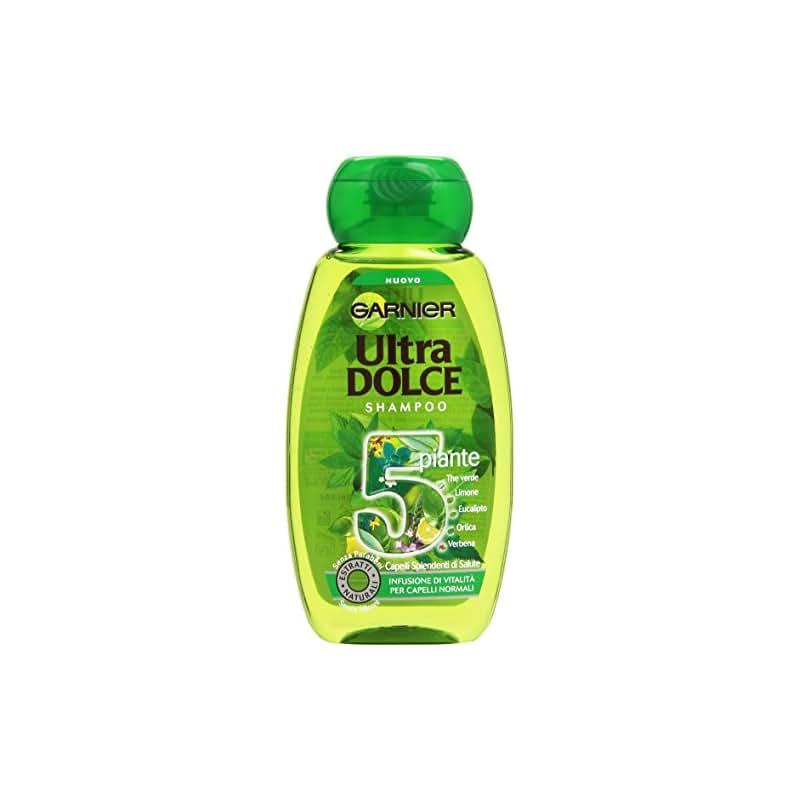 Garnier Ultra Dolce 5 Piante Shampoo Infusione di Vitalità per Capelli Normali