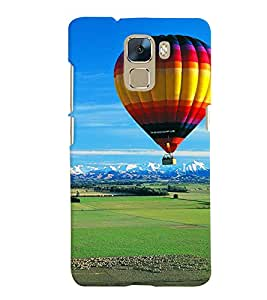 GADGET LOOKS PRINTED BACK COVER FOR Huawei Honor 7 MULTICOLOR