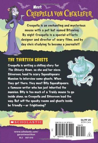 The Thirteen Ghosts (Creepella Von Cacklefur)