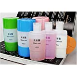 Roybens 3 In 1 Leak Proof Travel Empty Plastic Liquid Triad Bottle For Cosmetic, Toiletries, Shampoo, Lotion, Body Wash