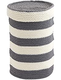 Toilet Tissue Reserve : InterDesign Ellis Knitted Free Standing Toilet Paper Roll Holder For Bathroom Storage...
