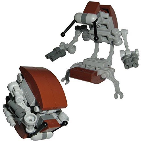 CBD Droideka AG1 Battle Droid der KUS - Custom Brick Design Figur gefertigt aus Lego Star Wars Teilen