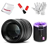 7artisans 55mm F1.4 Manual Focus Prime Fixed Lens for Olympus and Panasonic Micro