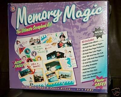 Memory Magic: The Ultimate Scrapbook Kit