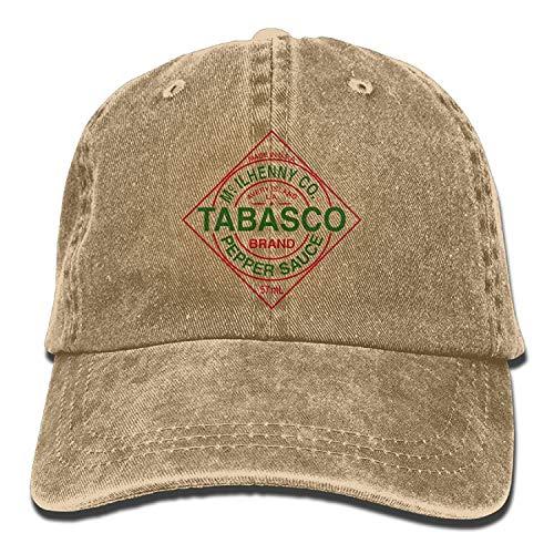 errterfte Tabasco Logo Adult Cowboy Hat Personalized Hat Comfortable - Tabasco Kostüm