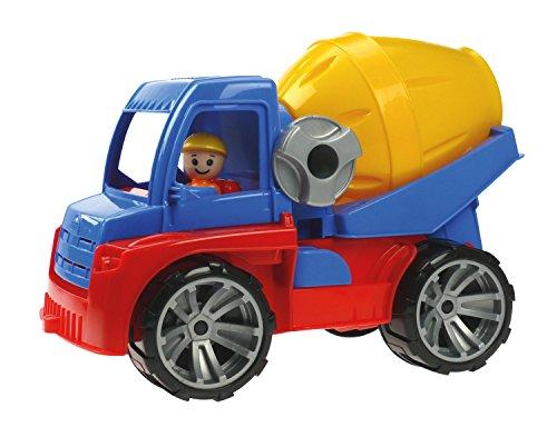 Preisvergleich Produktbild Lena 04413 - Truxx Betonmischer ca. 29 cm und Spielfigur