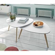 Mueble Auxiliar - Mesas de Centro Modernas - Colección Nordik Line J/2 - iBERGADA