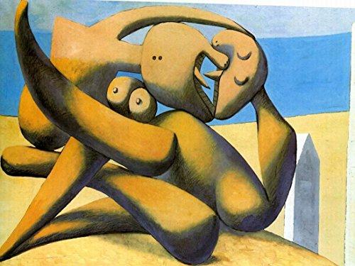 figures-au-bord-de-mer2-par-pablo-picasso-100-peint-a-la-main-lhuile-sur-toile-reproduction-de-grand