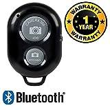 #8: Rhobos Bluetooth Wireless Remote Shutter Photo Clicker Controler Compatible with Xiaomi, Lenovo, Apple, Samsung, Sony, Oppo, Gionee, Vivo Smartphones (One Year Warranty)