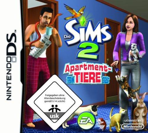 Die Sims 2 - Apartment-Tiere (Ds Lite Tier Spiele)