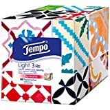 "Tempo ""Light Box"" Papiertücher, Würfel-Box mit Taschentüchern, 1 x 60 Tücher"