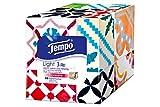 Tempo 'Light Box' Papiertücher, Würfel-Box mit Taschentüchern, 1 x 60 Tücher