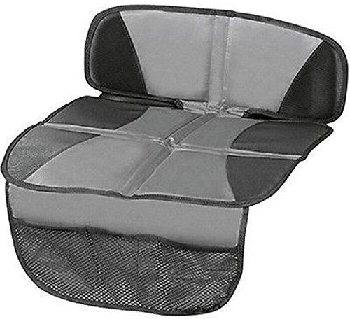 Kindersitzunterlage Tidy Fred Autositz Auflage Schutzunterlage Kindersitz Unterlage Leicht zu reinigen,Grau