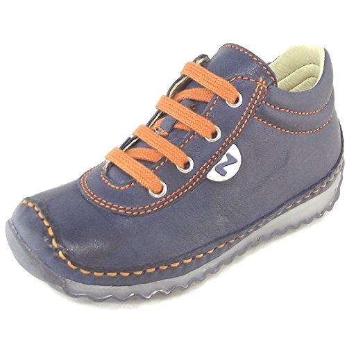 Naturino Apache, Chaussure de ville mixte enfant navy/arancio