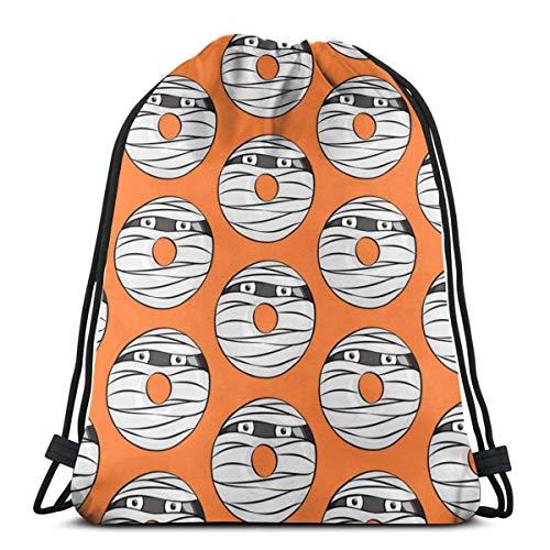Halloween Lightweight Drawstring Bag Sport Gym Sack Bag Backpack 17 X 14 Inch ()