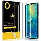 LK [3 stück] Schutzfolie für Huawei Mate 20 X (Premium-Qualität) Bildschirmschutzfolie Anti-Bubble [volle Abdeckung] HD Klar Folie [Lebenslange Ersatzgarantie]
