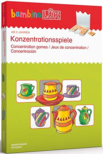 mbinoLÜK-Set: Konzentrationsspiele: 3 - 5 Jahre ()