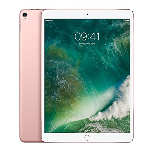 Best Apple iPad Pro 10.5-Inch Tablet – (Rose Gold) (256 GB HDD, iOS 11) Special
