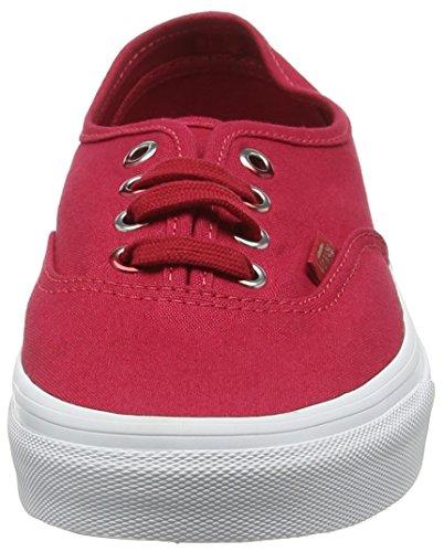 Vans Authentic, Scarpe da Ginnastica Basse Unisex – Adulto Rosso (Multi Eyelets Gradient/Crimson)