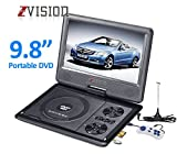 ZVision 3D 9.8 Inch Portable DVD VCD CD Player MP3 MP4 Color TV USB Memory Card Slot
