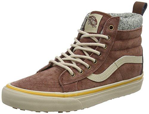 Vans Sk8-Hi Mte Dx, Sneakers Hautes Mixte Adulte Marron (Mte)
