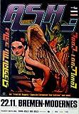 ASH - 2002 - Konzertplakat - Free all Angels - Tourposter - Concert - Bremen