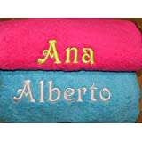toalla baño personalizada