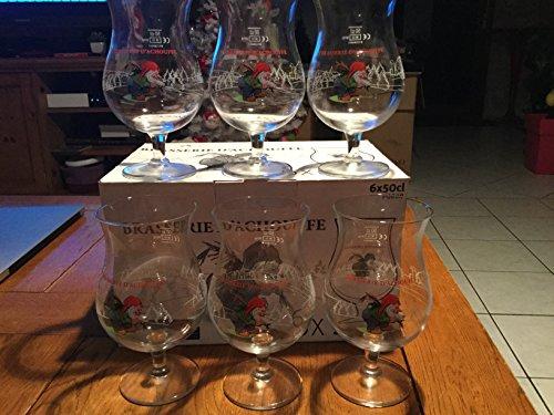 Rare Boite de 6 verre brasserie d achouffe en 50cl 50 cl neuf