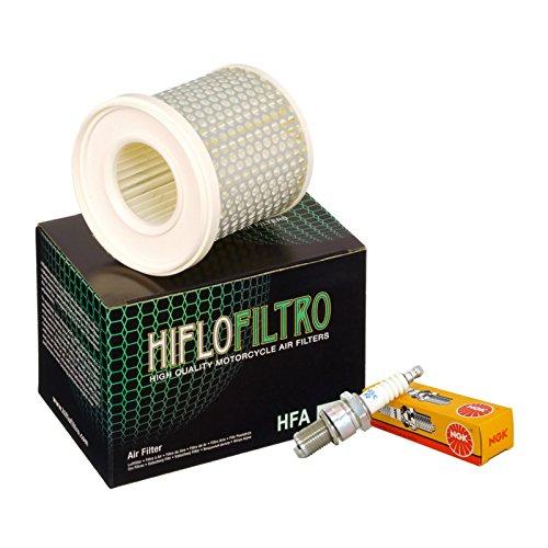 Filtro aria HifloFiltro HFA4502 candele NGK BPR7ES Yamaha XV 535 Virago/S