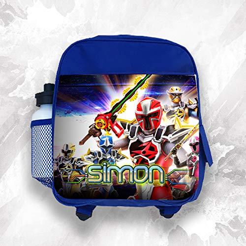 personnalisé Sac à dos enfant n'importe quel nom Power Rangers garçon pour enfants Sac d'école
