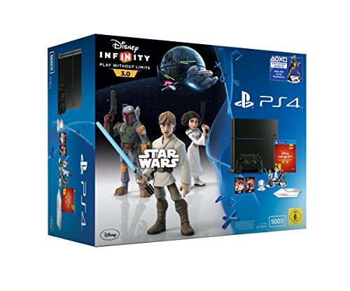PlayStation 4 - Konsole (500GB) inkl. Disney Infinity 3.0 (Ps4-bundle Mit Ps Vita)