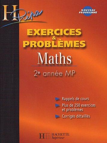 Maths 2e année MP : Exercices et problèmes