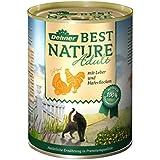 Dehner Best Nature Katzenfutter, Adult Geflügel und Leber, Probiergröße, 400 g