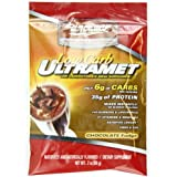 ULTRAMET FAIBLE EN GLUCIDES (Fudge chocolat) Pack de 20