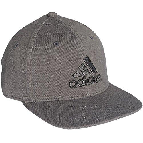 Adidas Golf 2018 Mens Heather Logo Stretch Fit Golf Cap Grey S/M